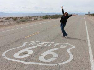 Aussicht auf der Route 66