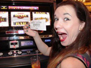 Besuch eines Casinos in Las Vegas
