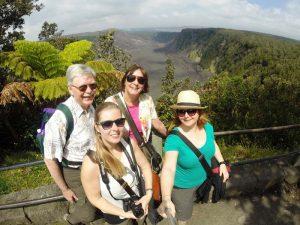 Vulkanwanderung auf Hawaii