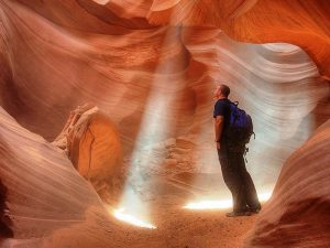 Lichtspiele im Antelope Canyon