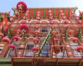 Fassade der Chinatown in San Francisco