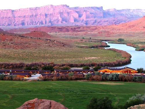 Traumhafte Lage am Colorado River
