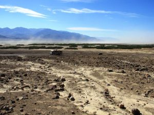 Landschaft des Death Valleys