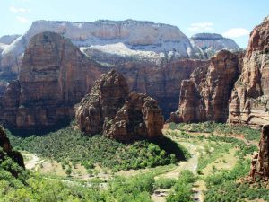 usa-utah-zion-nationalpark-angels-landing-trail-panorama