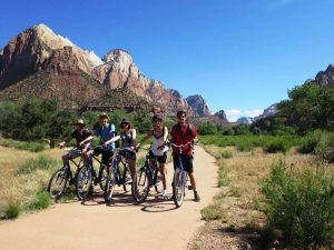 USA-zion-nationalpark-radtour-start