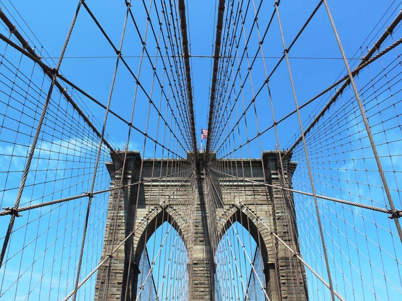 Brooklyn Bridge - die berühmteste Brücke von New York City