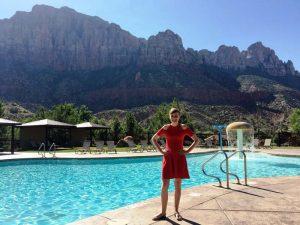 Entspannen am Pool in Springdale