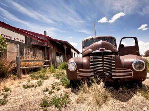 Typische Szenerie an der Route 66