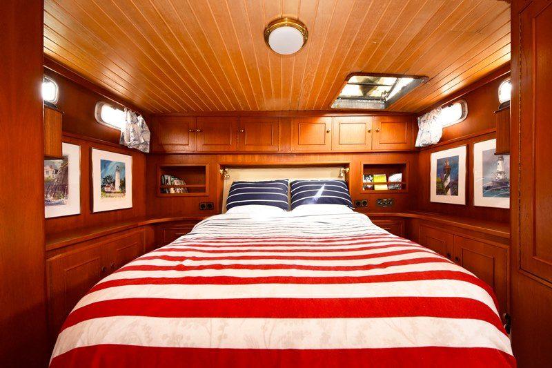 Kabine des Bootes