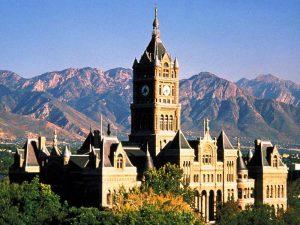 Das County Building in Salt Lake City