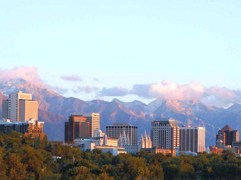 Salt Lake City - Skyline