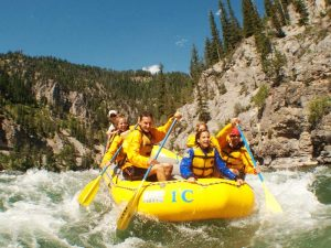 Rafting auf dem Snake River im Grand Teton Nationalpark