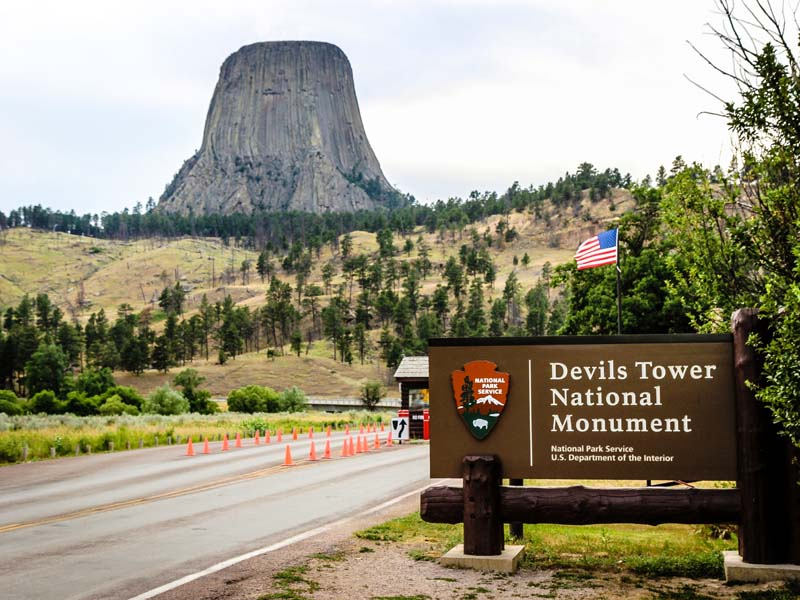 Das Devils Tower National Monument