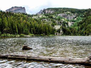 Landschaft in den Rocky Mountains