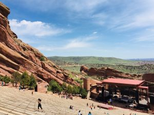Denver USA: Red Rocks Amphitheater