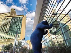 Denver USA: Blue Bear | Quelle: Visit Denver