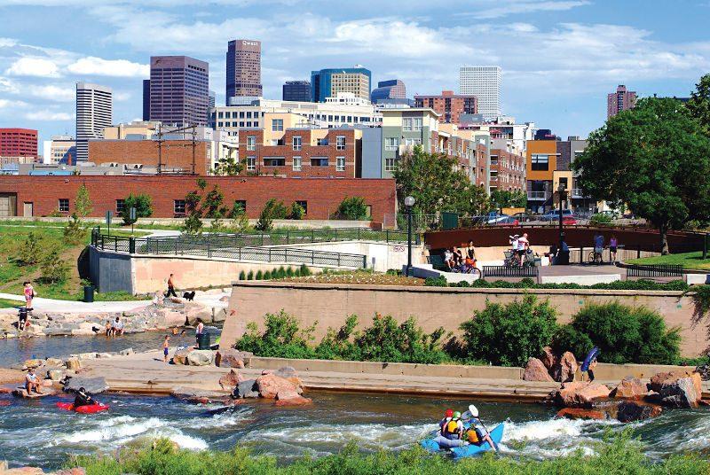 Denver Sehenswürdigkeiten: Confluence Park | Quelle: Visit Denver