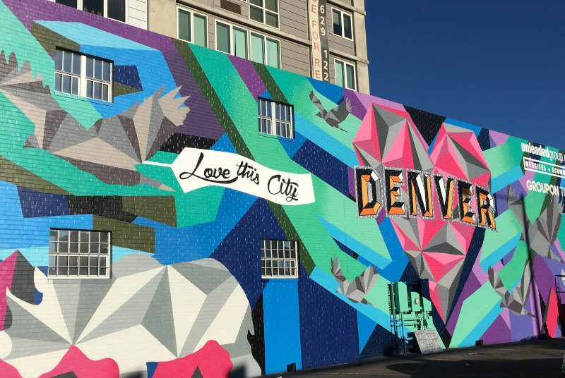 Mural Arts | Quelle: Visit Denver - So Gnar