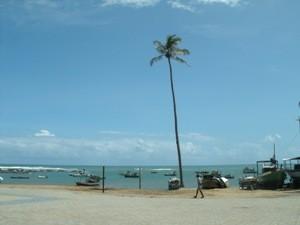 Am Strand in Praia do Forte
