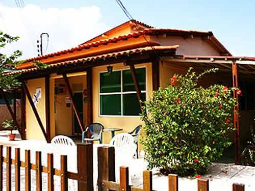 Terrasse der Unterkunft