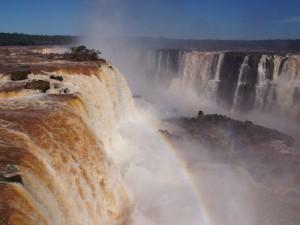 Die Wasserfälle von Iguacu
