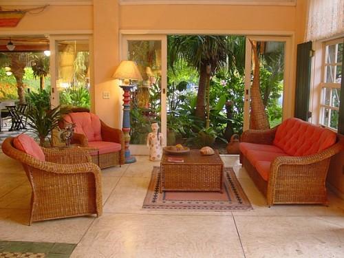 Die Lobby im Komforthotel in Buzios