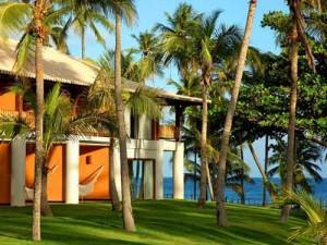 Resort am Strand