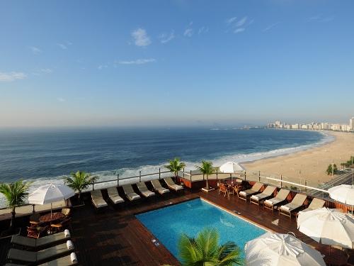 Hotelpool Komforthotel Rio de Janeiro