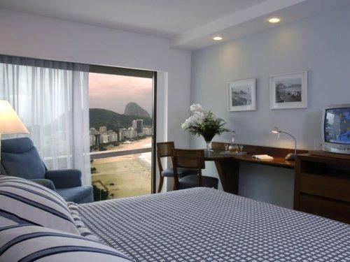 Zimmer mit Meerblick im Komforthotel