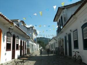 Stadtzentrum von Paraty