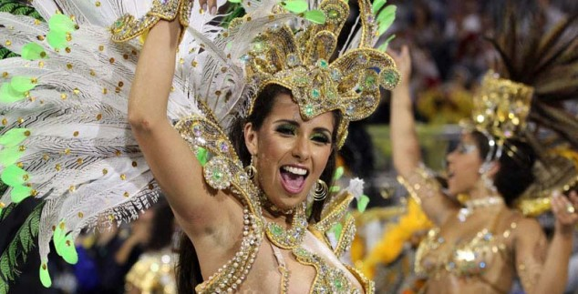 Karneval in Brasilien