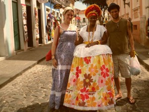 Touristen mit Bahiana