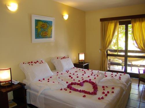Doppelzimmer in einem Hotel in Praia do Forte