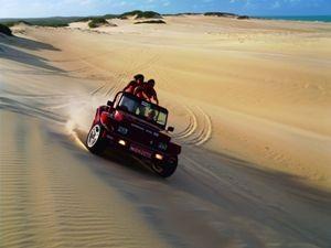 Buggyfahrt durch die Dünen