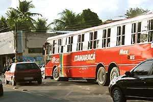 Stadtbus in Brasilien