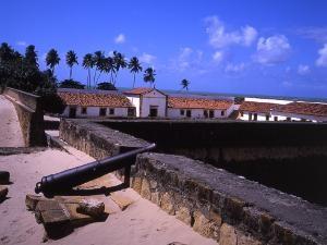 Ruinen des Fort Oranje in Itamaraca