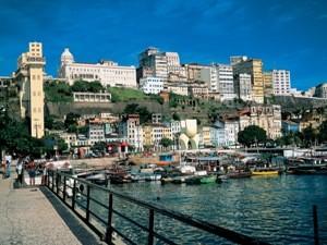 Hafenblick Altstadt Salvador da Bahia