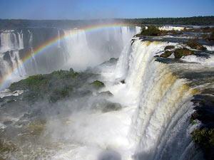 Die Iguacu Wasserfälle
