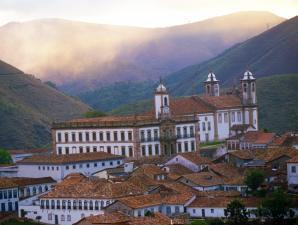 Koloniale Gebäude in Ouro Preto
