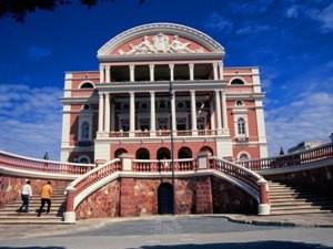 Teatro Amazonas in Manaus bei Brasilien Rundreise