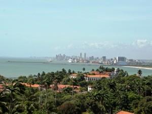 Ein Gesamtblick über Olinda und Recife