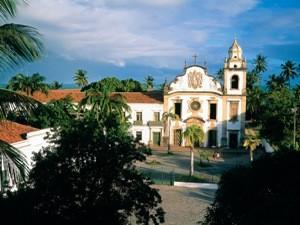 Kirche Kolonialstadt Olinda Brasilien Reise