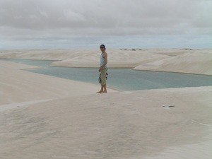 Weiße Dünen und blaue Lagunen in Lencois Maranhenses