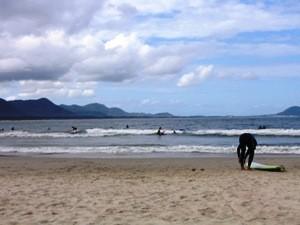 Sufer am Strand
