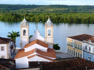 Ausblick vom Hotel in Penedo