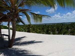 Die weißen Sanddünen von Mangue Seco
