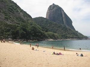Praia Vermelho in Rio de Janeiro