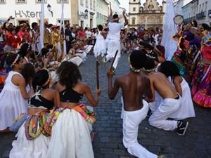 Sambatänzer in Pelourinho