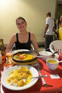 Vor allem im Nordosten gibt es herrliche tropische Küche
