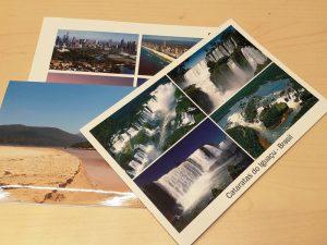Urlaubsgrüße per Post